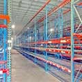 Used Teardrop Pallet Rack at SJF Material Handling
