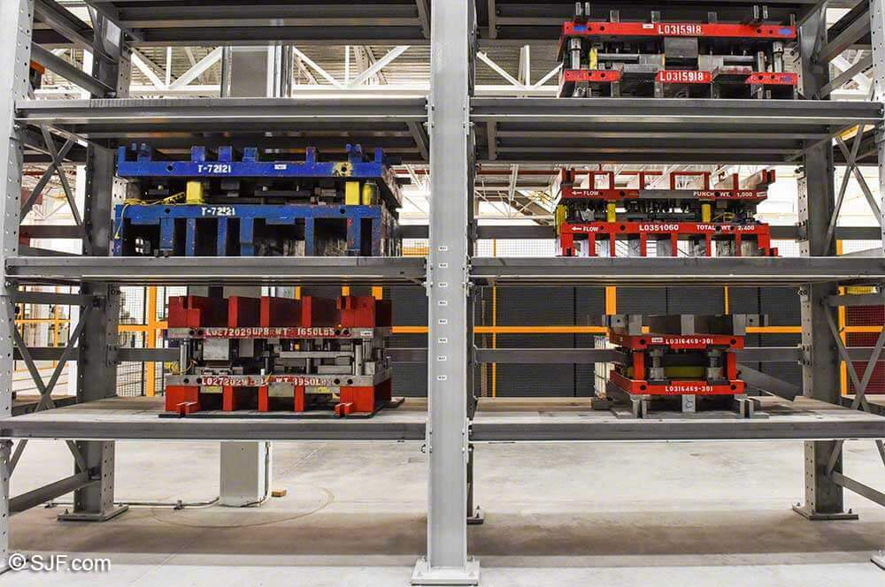 Tool and Die Racking System