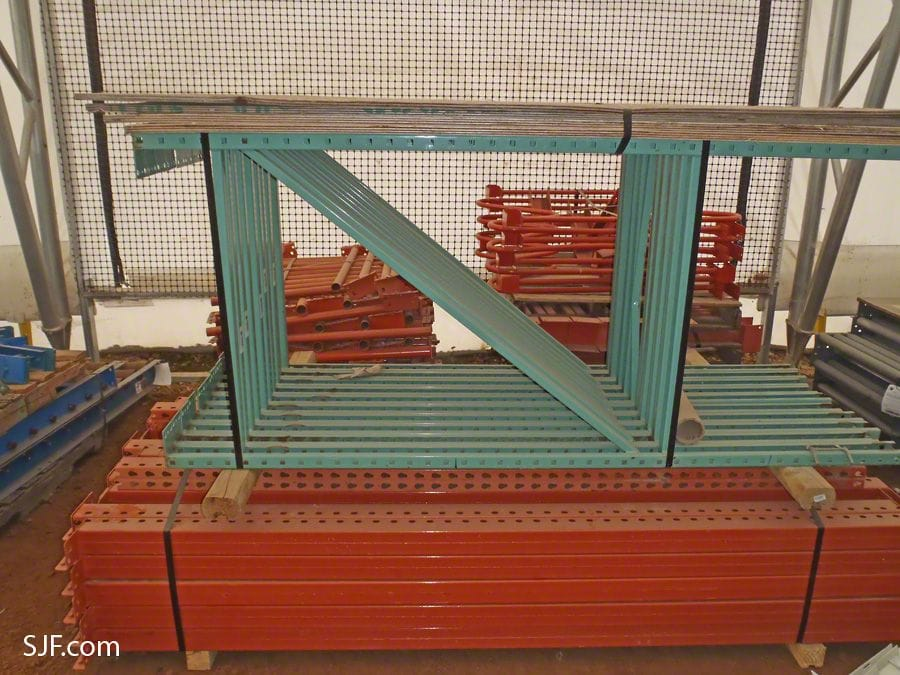 Vertical Rack System Uprights and Beams
