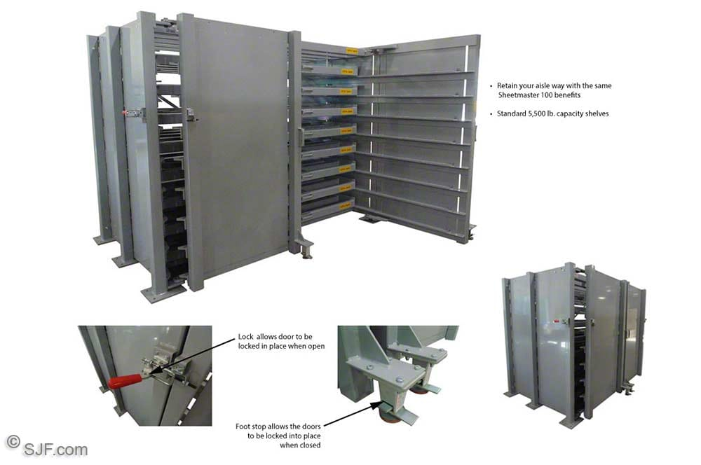 New Sheetmaster Sheet Metal Storage Rack description