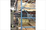 Structural Push Back Pallet Rack