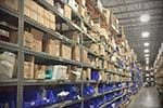 Used Metal Rivet Shelving Racks