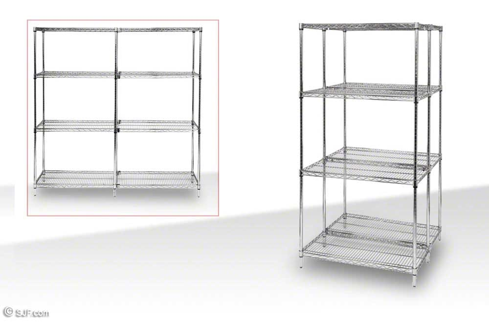 Warehouse Shelving Units & Wire Rack Shelving | SJF.com