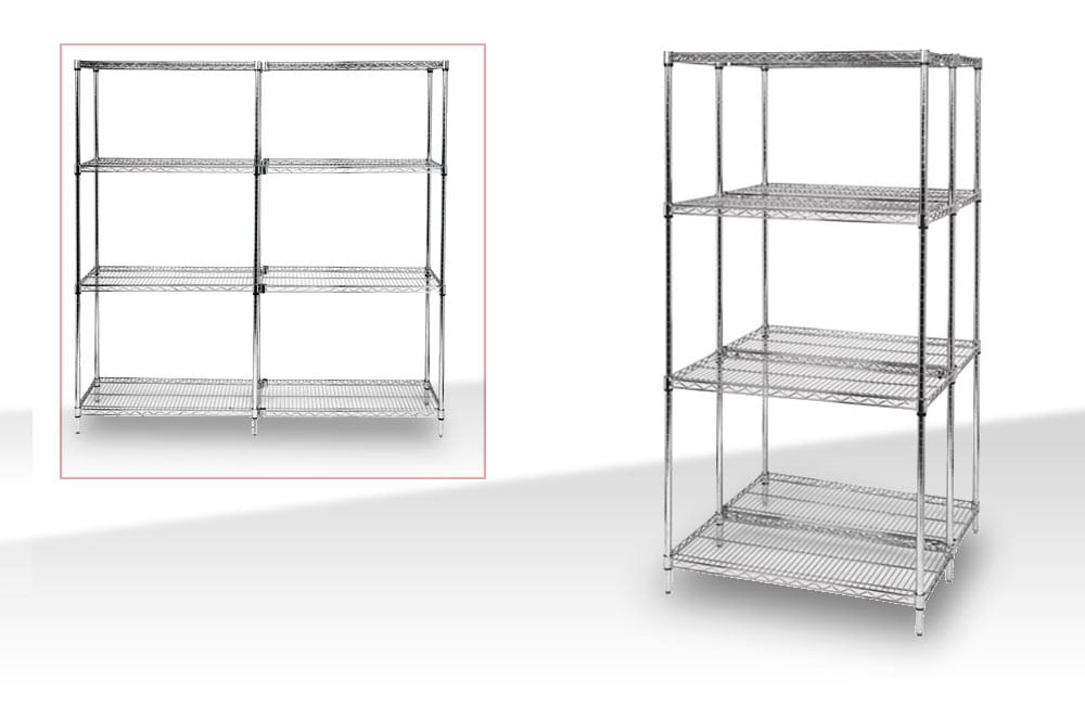wire storage rack shelving