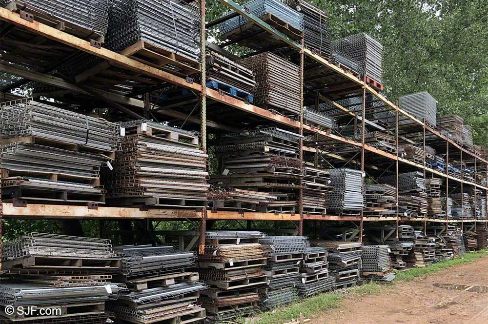 Wire Decking For Pallet Racks New Amp Used Prices Sjf Com