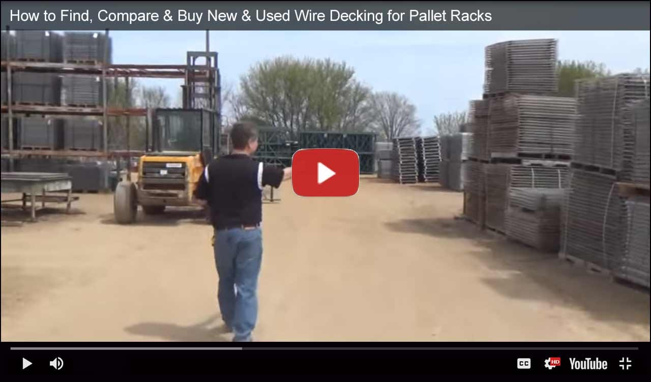 Wire decking video