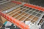 Wire Decking - front and back